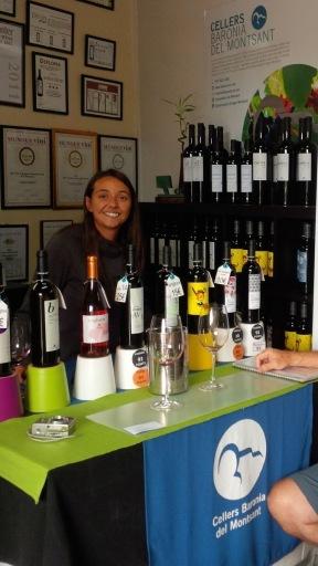 Tasting Room at Baronia del Montsant - Laura Llevat Palau